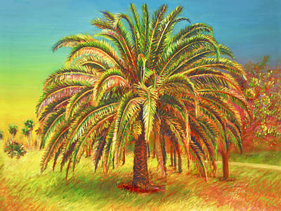 Painting - Palm Candy by Nancy Tilles