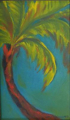 Palm Fusion Art Print by Lacey Wingard