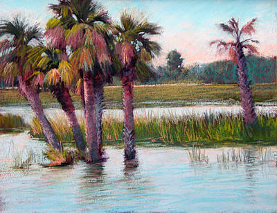 Painting - Palm Party by Marsha Savage