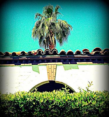 Palm Springs Desert Spanish 4 Art Print by Randall Weidner