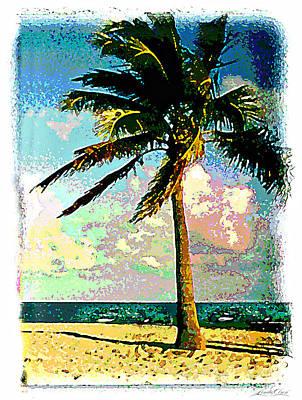 Palm Three Art Print by Linda Olsen