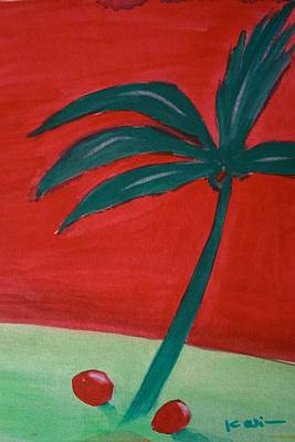 Painting - Palm Tree Series 5 by Karin Eisermann