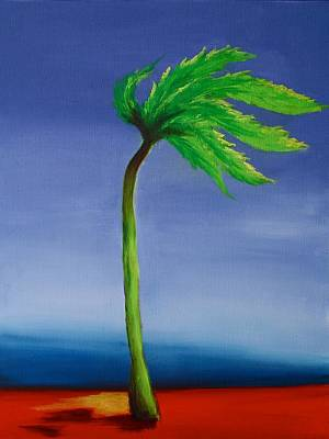 Painting - Palm Tree Series 9 by Karin Eisermann