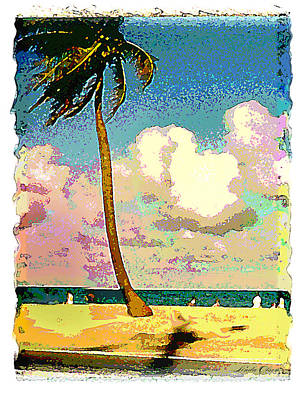 Serigraph Photograph - Palm Two by Linda Olsen