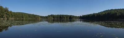 Nys Photograph - Palmer Pond Panorama by Joshua House