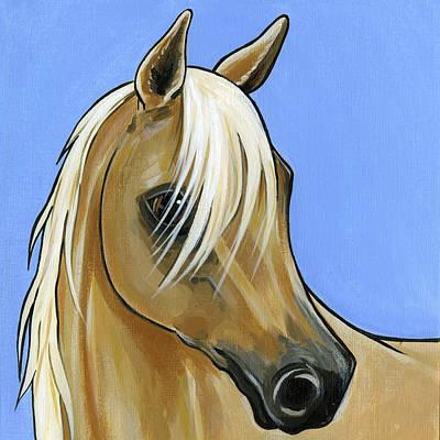 Painting - Palomino by Leanne Wilkes