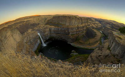 Photograph - Palouse Falls And Canyon by Idaho Scenic Images Linda Lantzy