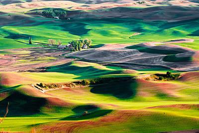 Photograph - Palouse Hills 3 by Niels Nielsen
