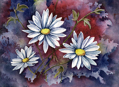 Painting - Pampa Daisies by Sam Sidders