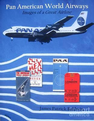 Pan American World Airways Art Print by Lesley Giles