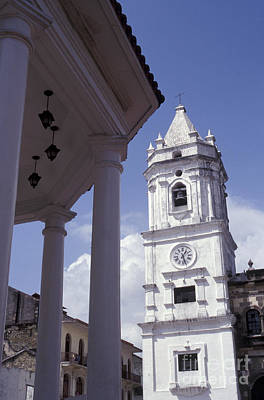 Photograph - Panama City Cathedral by John  Mitchell