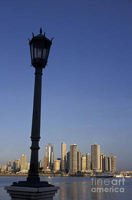 Photograph - Panama City Skyline by John  Mitchell