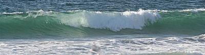 Photograph - Panaromic Wave Number 1 by Jeremy McKay