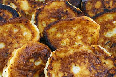 Pancakes It Is Food Of Poor People Art Print by Aleksandr Volkov