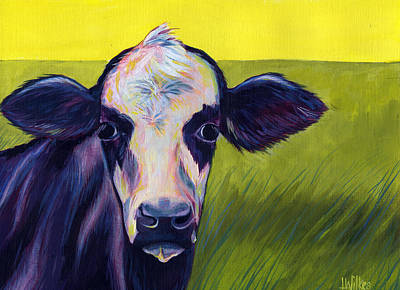 Painting - Panda Cow by Leanne Wilkes