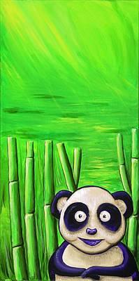 Painting - Panda by David Junod