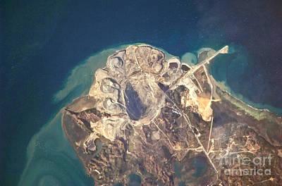 Panian Mine, Semirara Island Art Print by NASA/Science Source