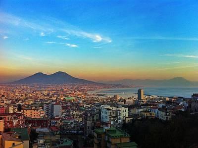 Photograph - Panorama Di Napoli Col Vesuvio by Gianluca Sommella