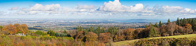 Photograph - Panorama Of Dublin City And The Dublin Bay by Semmick Photo