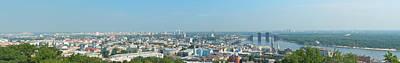 Dnieper Wall Art - Photograph - Panorama Of Kiev by Oleg Mitiukhin