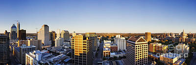 Frost Bank Building Photograph - Panoramic City Skyline by Jeremy Woodhouse
