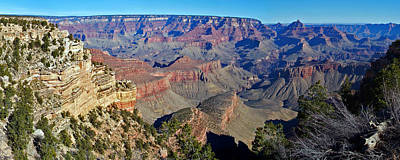 Photograph - Panoramic Grand Canyon by Sheila Kay McIntyre