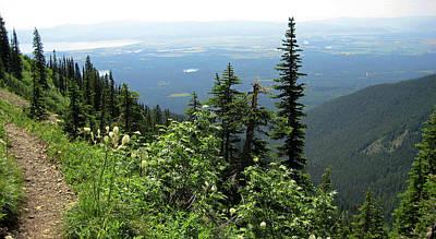 Photograph - Panoramic Jewel Basin Montana by Lorraine Devon Wilke