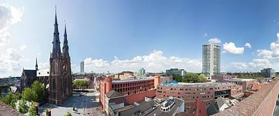 Photograph - Panoramic View Of Eindhoven by Semmick Photo