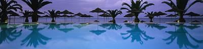 Panoramic View Of Infinity Pool Art Print