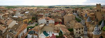Photograph - Panoramic View Of Olite by Alfredo Rodriguez