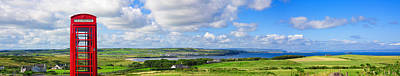 Photograph - Panoramic View Of Portballintrae by Semmick Photo