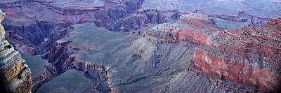 Jeka World Photograph - Panoramic View Of The Grand Canyon by Jeff Rose