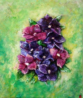 Pansy Expression Art Print