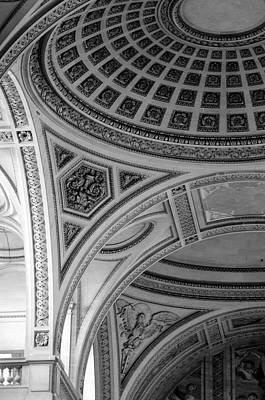 Photograph - Pantheon Arches by Sebastian Musial