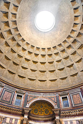 Art Print featuring the photograph Pantheon  by Luciano Mortula