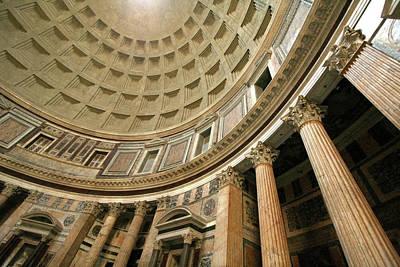 Photograph - Pantheon Rotunda Columns by Vicki Hone Smith