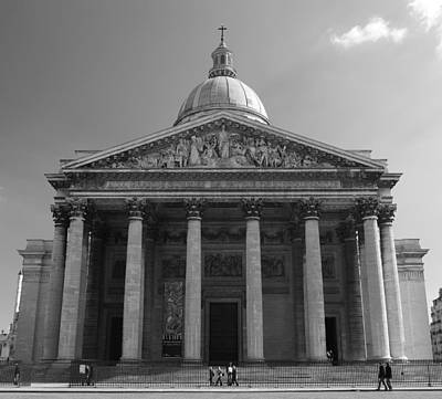 Photograph - Pantheon by Sebastian Musial