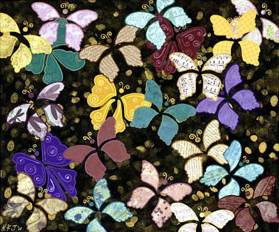 Paper Butterflies Original