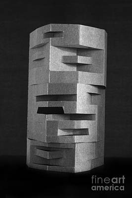Installation Art Photograph - Paper Scuplpture by Igor Kislev