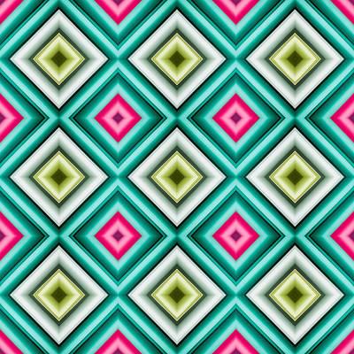 Paper Symmetry 2 Print by Hakon Soreide