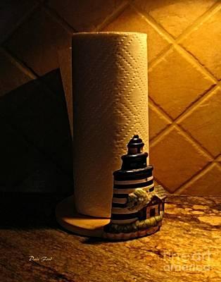 Digital Art - Paper Towel Holder by Dale   Ford