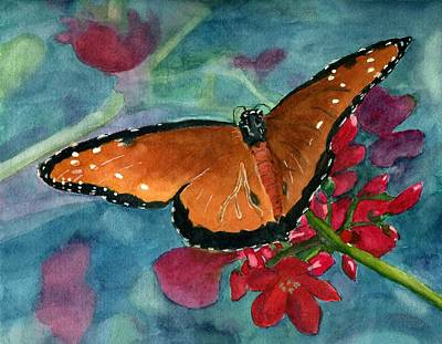 Painting - Papilio Fandango  by Lynne Reichhart