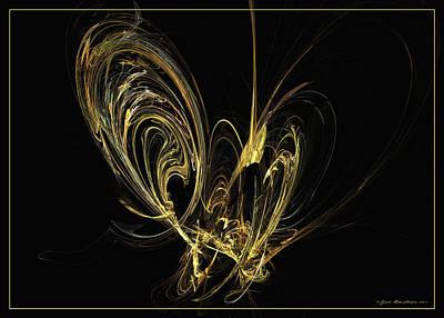 Digital Art - Papillon by Sipo Liimatainen