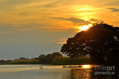 Papua New Guinea Sunset Art Print