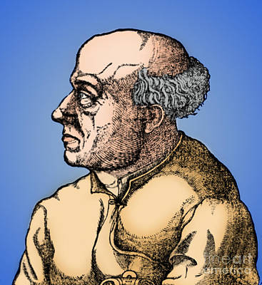 Paracelsus, Swiss Polymath Art Print by Science Source