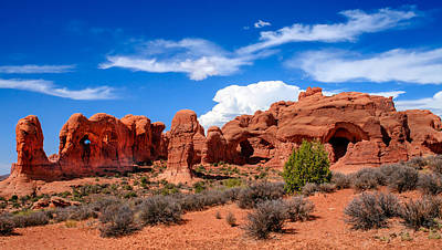 Andscape Photograph - Parade Of Elephants by Robert Bales