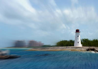 Photograph - Paradise Island Lighthouse by Carla Parris
