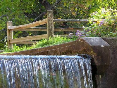 Photograph - Paradise Springs Waterfall 2 by Anita Burgermeister