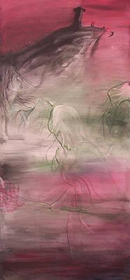 Thrilled Painting - Paradox 2 by Sheri Lauren Schmidt