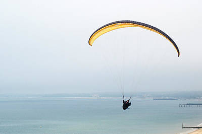 Photograph - Paraglider by Chris Day